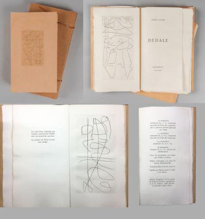 Libro Illustrato Lanskoy - Pierre Lecuire : DÉDALE. Lanskoy eaux-fortes (1960).