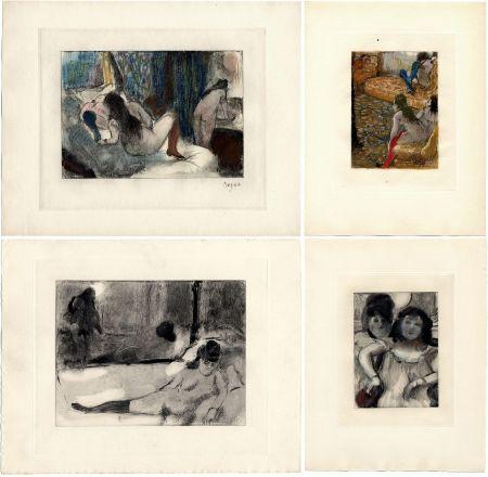 Libro Illustrato Degas - Pierre Louys : MIMES DES COURTISANES (Vollard, Paris 1935)