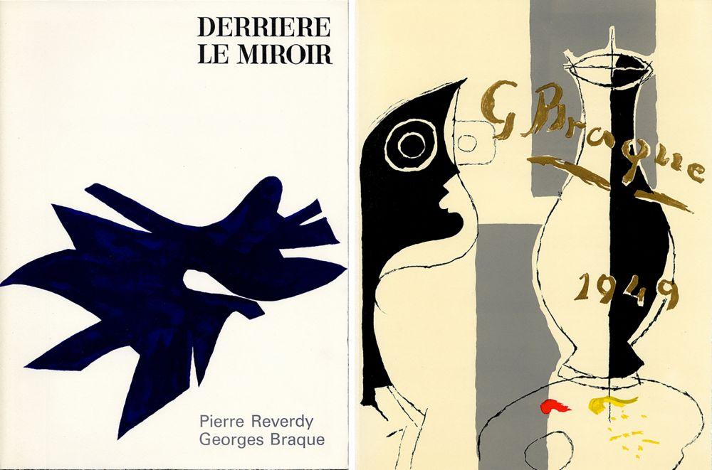 Libro Illustrato Braque - PIERRE REVERDY, GEORGES BRAQUE. DERRIÈRE LE MIROIR n° 135-136. Déc.1962-Janv.1963.