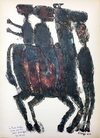 Libro Illustrato Dubuffet - Pierre Seghers : L'HOMME DU COMMUN ou Jean Dubuffet (1944).