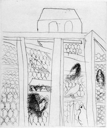 Acquaforte Dufy - Pigeonners II
