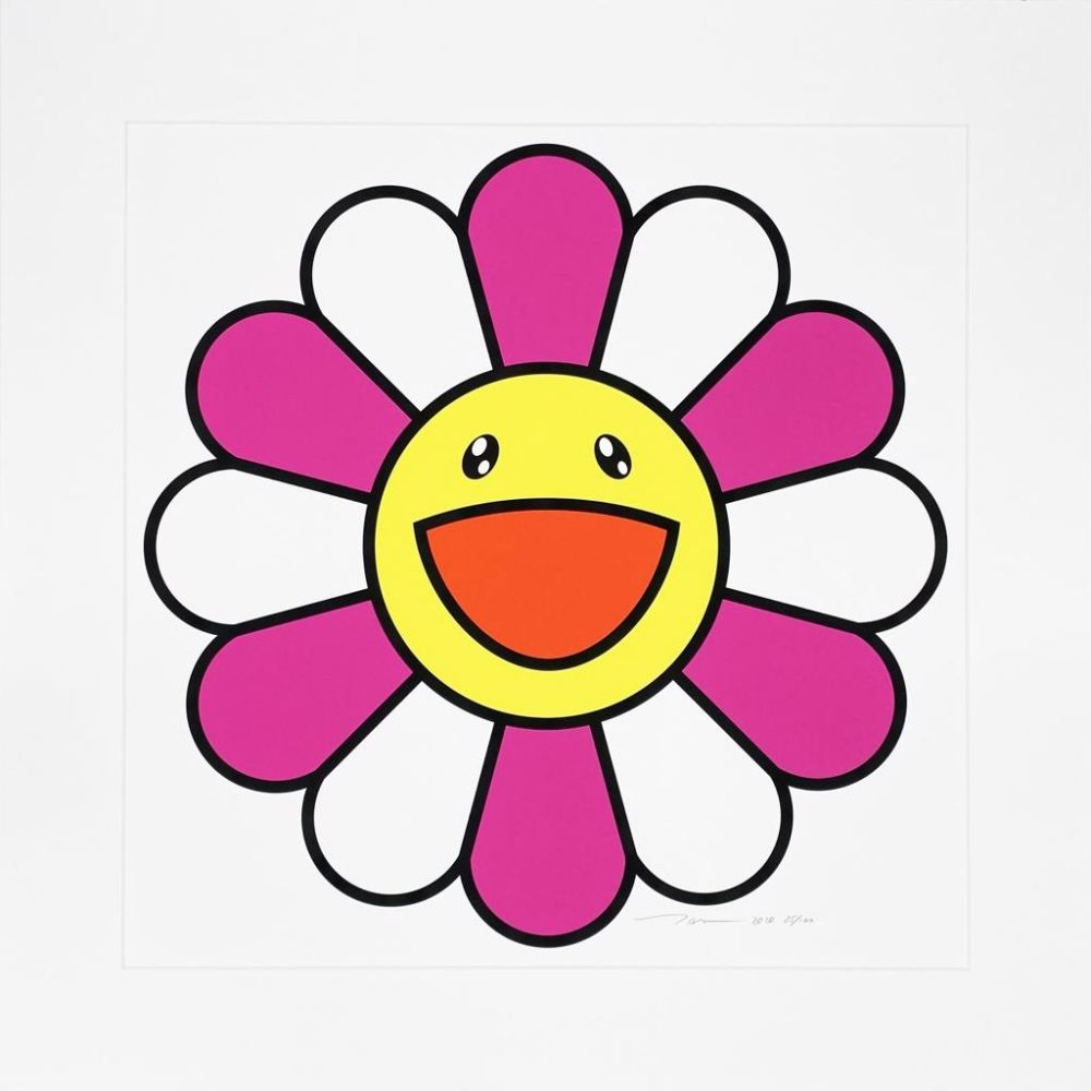 Serigrafia Murakami - Pinky chan