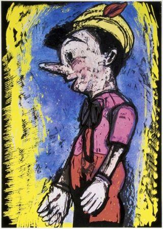 Serigrafia Dine - Pinocchio