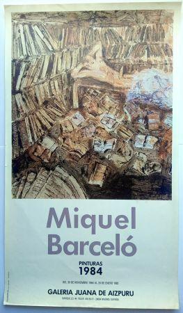 Manifesti Barcelo - Pinturas 1984