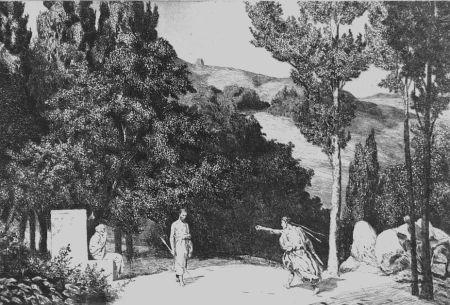 Acquaforte E Acquatinta Klinger - Piramo e Tisbe III