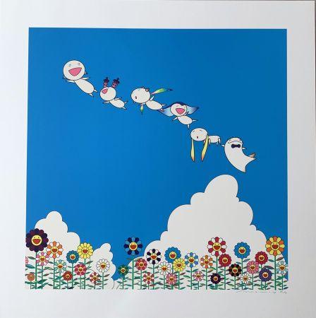 Litografia Murakami - Planet 66 : Summer Vacation
