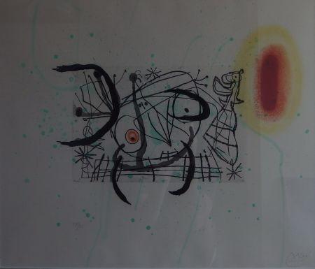 Incisione Miró - Plate 11