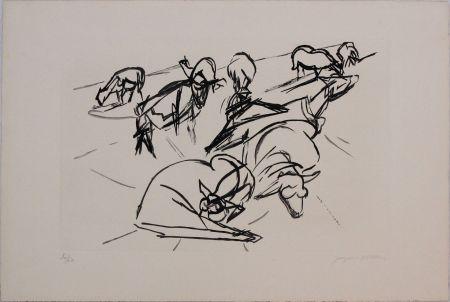 Acquatinta Villon - Plate X from 'Hesiode, Les Travaux et les Jours' portfolio