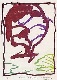 Litografia Alechinsky - Plus Léger Que L'air