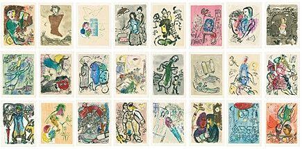Libro Illustrato Chagall -