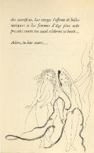 Libro Illustrato Laurencin - Poèmes de Sapho, illustrés de 23 eaux-fortes par Marie Laurencin