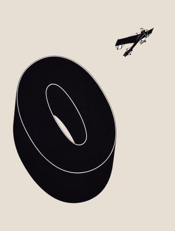 Litografia Brossa - Poema visual 20