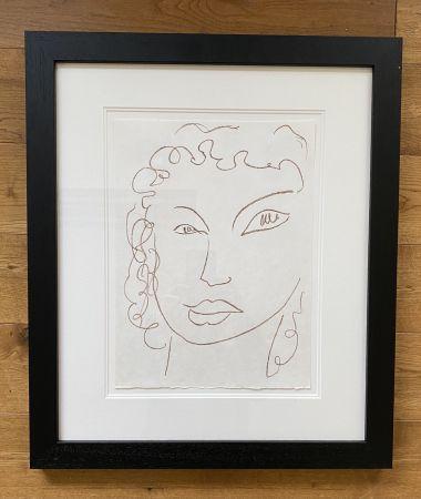 Litografia Matisse - Poesies Antillaises - Number J.1