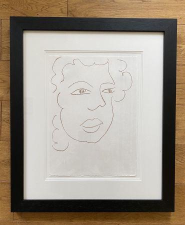 Litografia Matisse - Poesies Antillaises - Number J.7