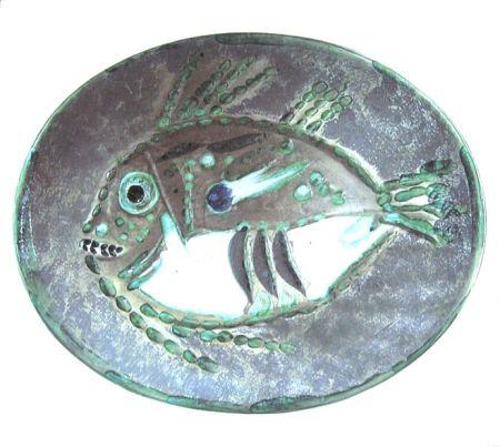 Ceramica Picasso - Poisson chiné