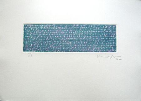 Incisione Hernandez Pijuan - Polychrome 5