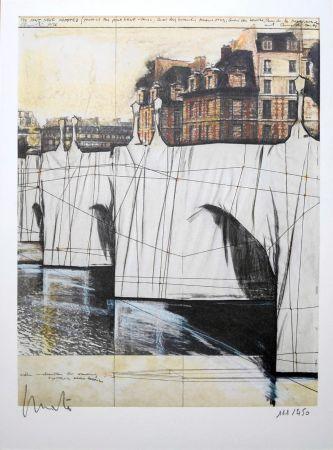 Litografia Christo - Pont Neuf Wrapped