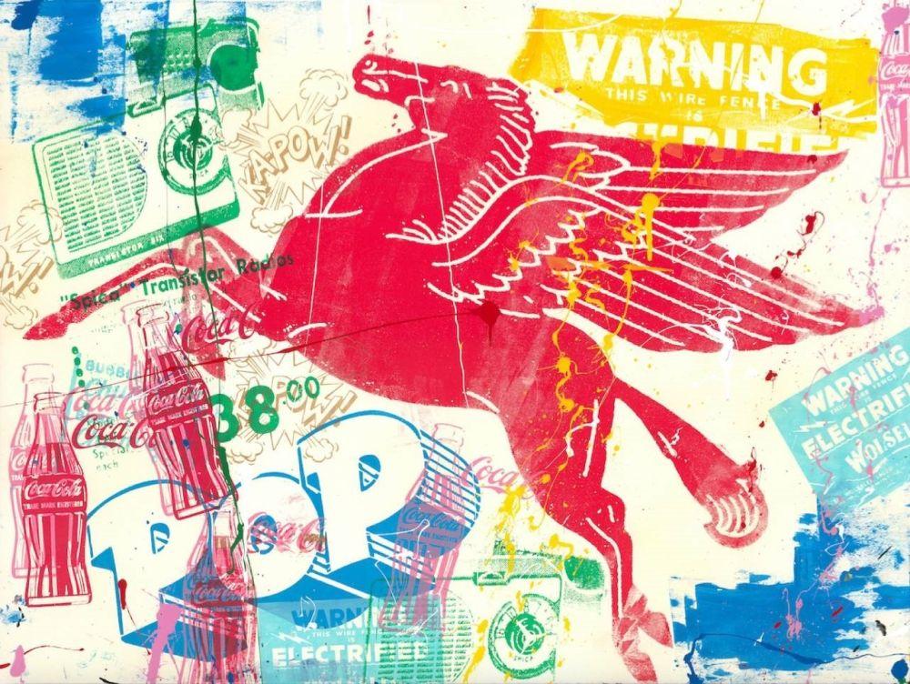 Serigrafia Mr Brainwash - Pop Scene