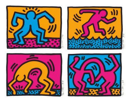 Serigrafia Haring - Pop Shop Ii
