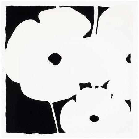 Serigrafia Sultan - Poppies, June 3, 2011 (White)