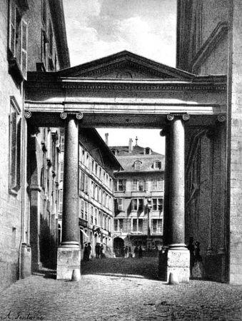 Litografia Fontanesi - Porte de la Treille