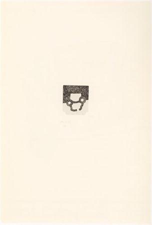 Incisione Chillida - Portfolio 12th Anniversary of Galeria Joan Prats