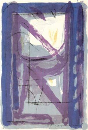 Litografia Rafols Casamada - Portfolio 12Th Anniversary Of Galeria Joan Prats