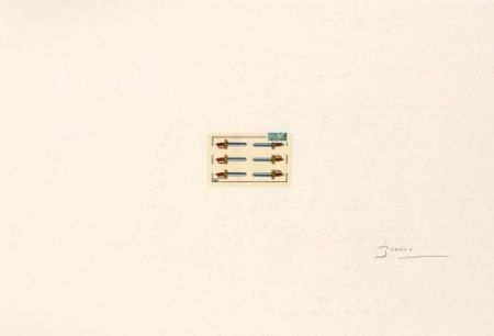 Litografia Brossa - Portfolio 12th Anniversary of Galeria Joan Prats