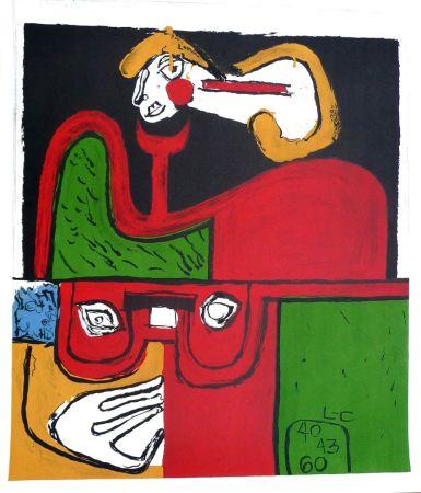 Litografia Le Corbusier - Portrait