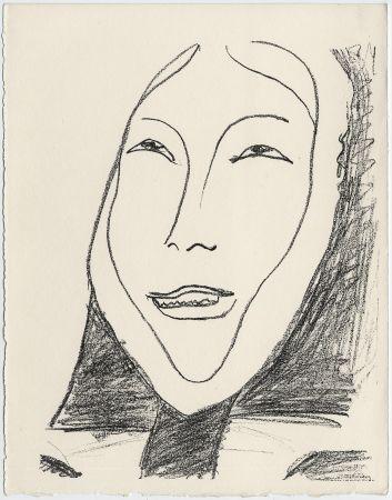 Litografia Matisse - Portrait de femme esquimau n° 4. 1947 (Pour Une Fête en Cimmérie)