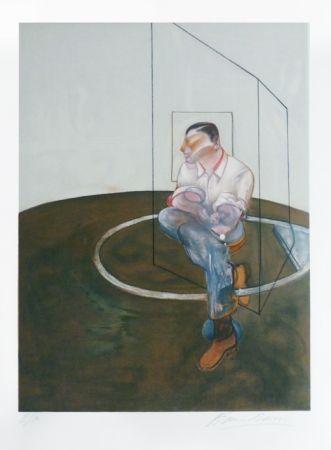 Litografia Bacon - Portrait de John Edwards