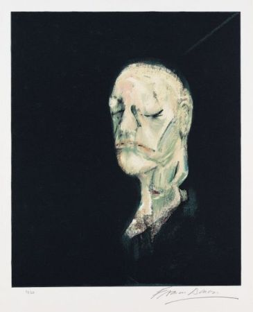Litografia Bacon - Portrait de William Blake