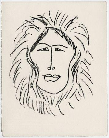Litografia Matisse - Portrait d'homme esquimau n° 1. 1947 (Pour Une Fête en Cimmérie)