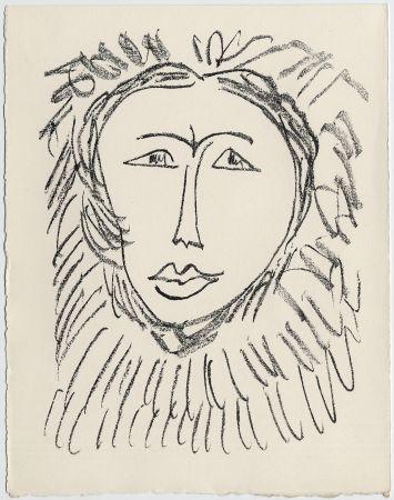 Litografia Matisse - Portrait d'homme esquimau n° 3. 1947 (Pour Une Fête en Cimmérie)