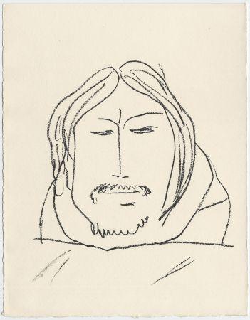 Litografia Matisse - Portrait d'homme esquimau n° 6. 1947 (Pour Une Fête en Cimmérie)