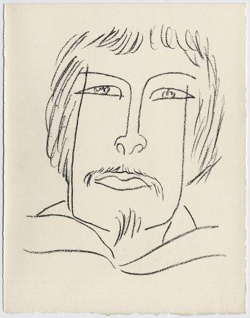 Litografia Matisse - Portrait d'homme esquimau n° 7. 1947 (Pour Une Fête en Cimmérie)