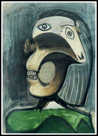 Litografia Picasso (After) - PORTRAIT DORA MAAR