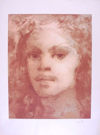 Litografia Fini - Portrait imaginaire