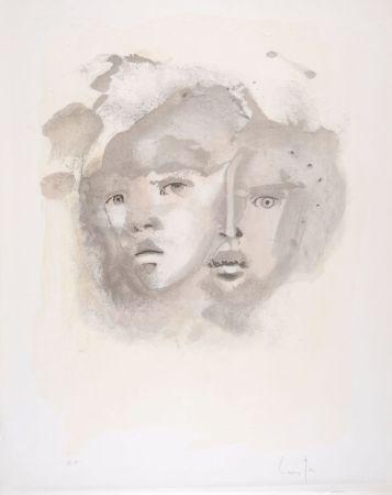Litografia Fini - Portrait imaginaire brun