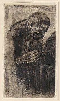 Incisione Kollwitz - Portrait of a Man