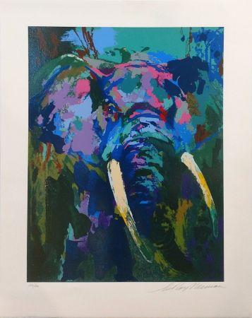 Serigrafia Neiman - PORTRAIT OF AN ELEPHANT