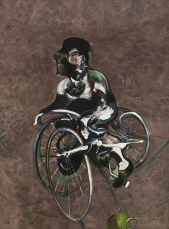 Multiplo Bacon - Portrait Of Georges Dyer Riding A Bicycle 1966