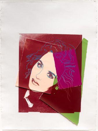 Serigrafia Warhol - Portrait of Isabelle Adjani