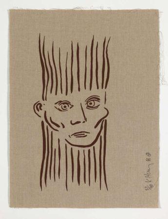 Serigrafia Haring -  Portrait of Joseph Beuys