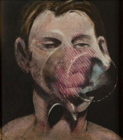 Acquaforte E Acquatinta Bacon - Portrait of Peter Beard I