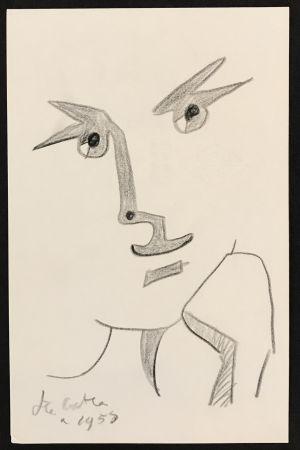 Non Tecnico Cocteau - Portrait with Hand to Chin