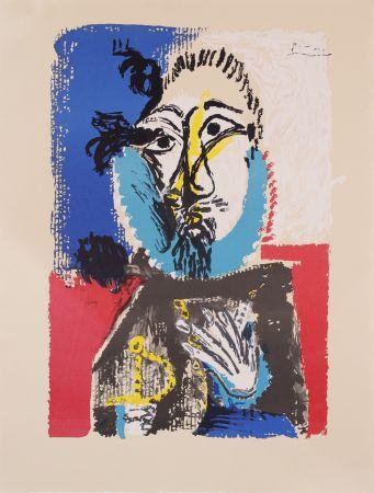 Litografia Picasso - Portraits Imaginaires- Proof
