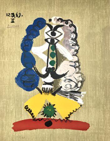 Litografia Picasso - Portraits Imaginaires 12.3.69 Ii