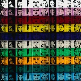 Serigrafia Warhol - Portraits of the Artists