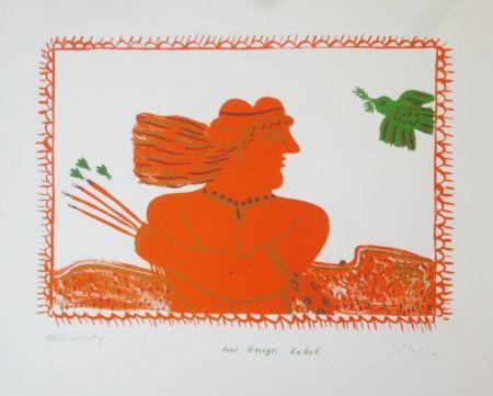 Litografia Fassianos - Pour Georges Rabol